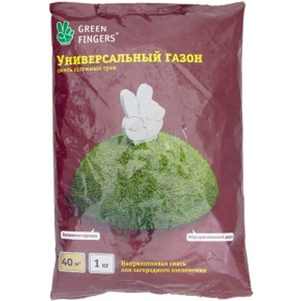 Семена газона GREEN FINGERS Универсальный 1 кг 4607160332925