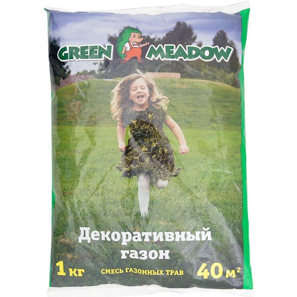 Семена газона GREEN MEADOW Декоративный стандартный газон 1 кг 4607160330600