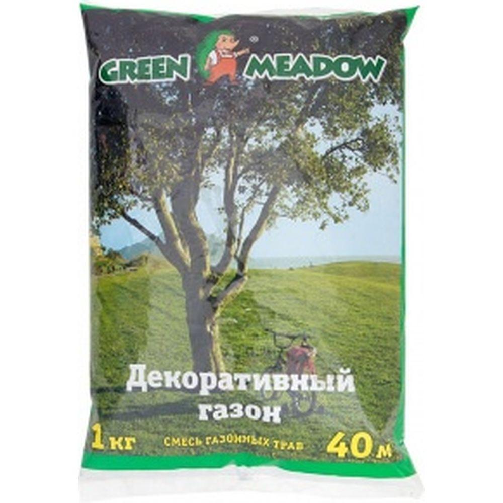 Семена газона GREEN MEADOW Декоративный газон для затемненных мест 1 кг 4607160330723