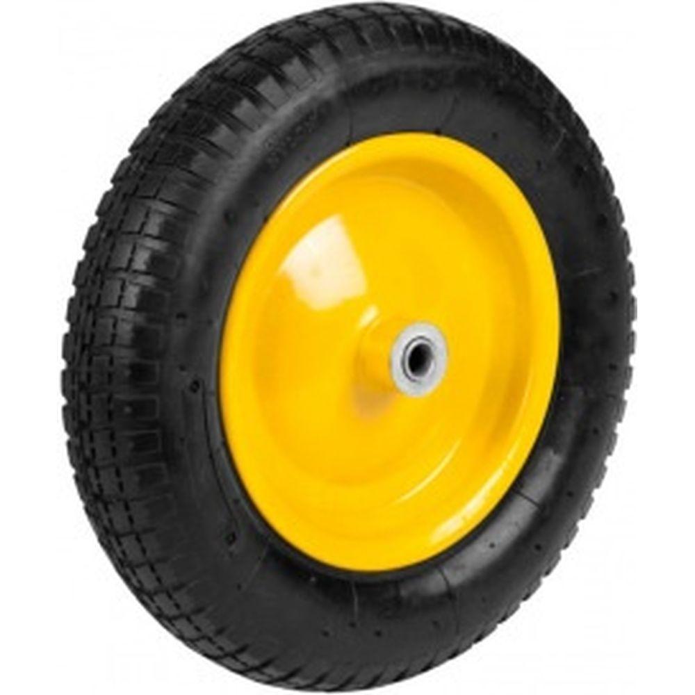 Колесо пневматическое с подшипником 360 мм для тачек 422394/422397/422400 Grinda 422407