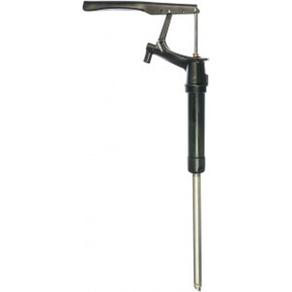 Бочковый ручной рычажный фронтальный насос для масел, шланг GROZ GR44110 - A2H/BL