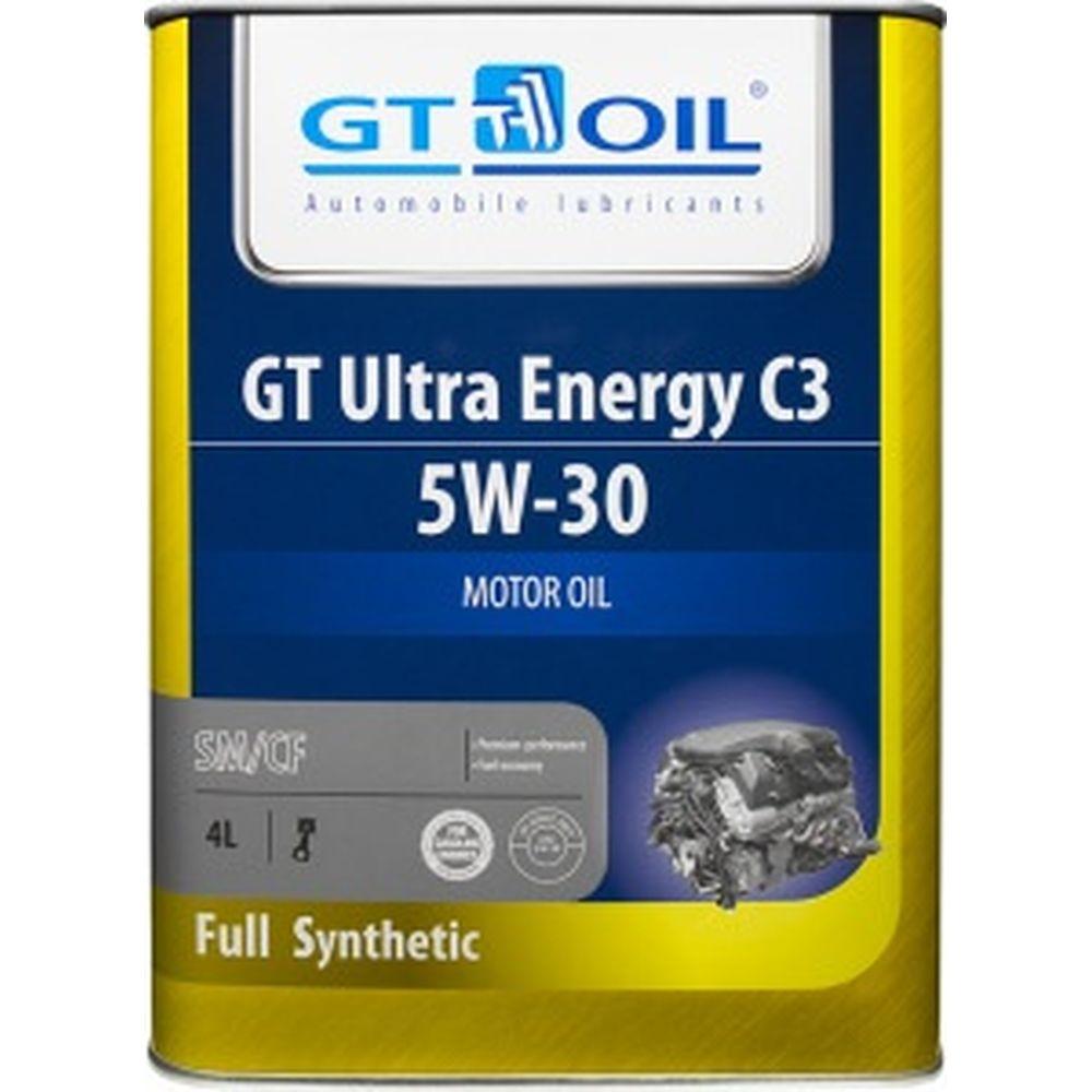 Масло Ultra Energy C3, SAE 5W-30, API SM,SN/CF, 4л GT OIL 8809059407936