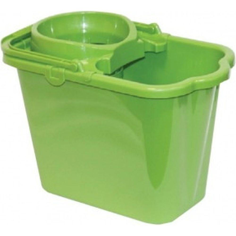 Пластиковое ведро с отжимом IDEA 95л, цвет зеленый М 2421 602545