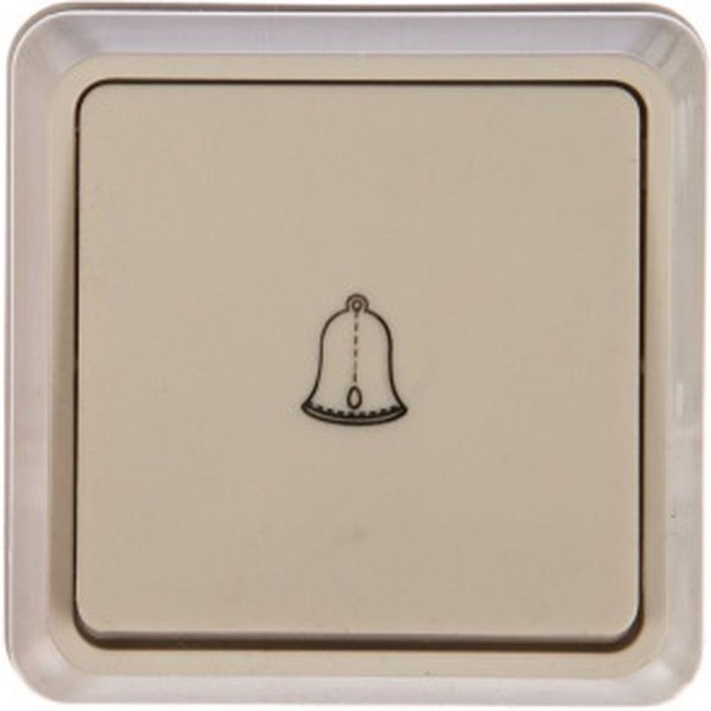 1клавишный (кнопочный) выключатель IEK ОКТАВА 10А белый EVO13-K01-10-DC