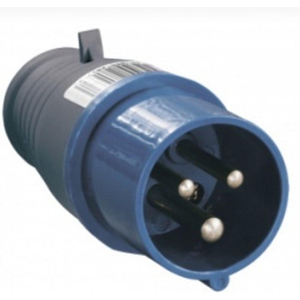 Электрическая кабельная вилка IEK 16А 2P+E 16А 220В IP44 013 ИЭК PSR01-016-3