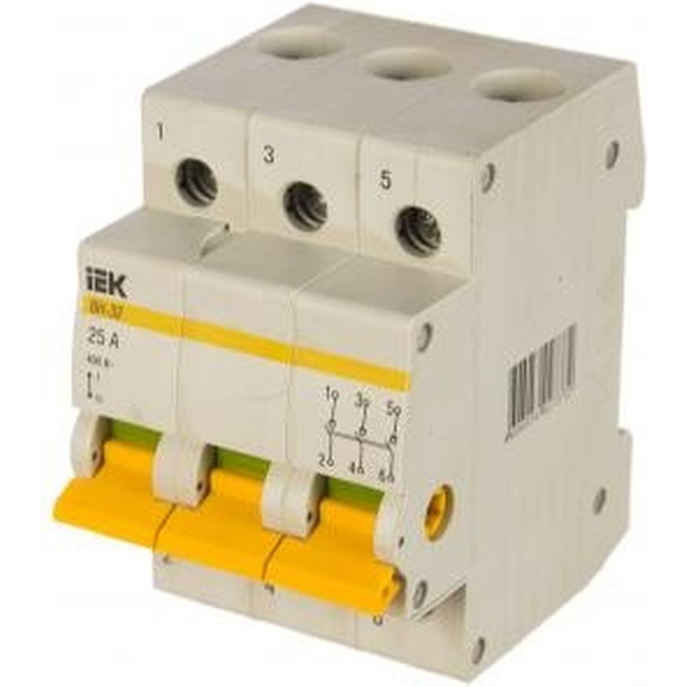 Выключатель нагрузки IEK ВН-32 25А/3П ИЭК MNV10-3-025