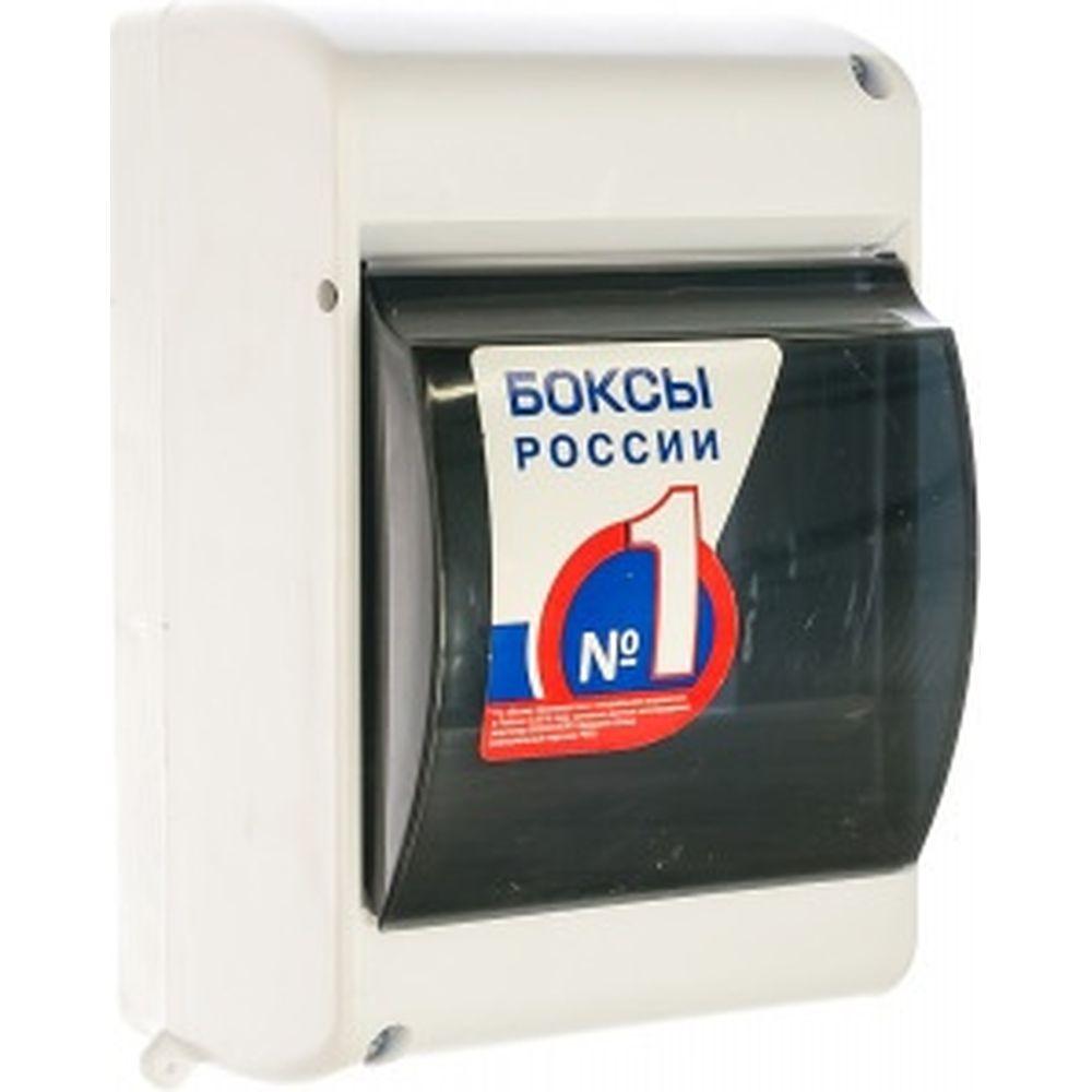 Бокс IEK ОП КМПн 2/4 на 4 модуля IP30 ИЭК MKP42-N-04-30-12