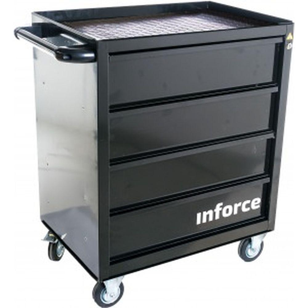 Инструментальная тележка Inforce 4 ящика 06-01-18