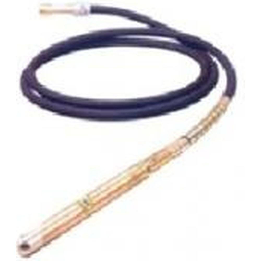 Вал привода с вибронаконечником для вибратора ВЭС-1500М ВП-0,38/4 Калибр 00000048695