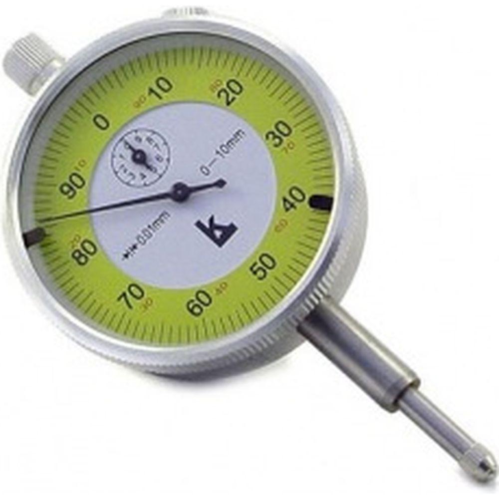 Индикатор часового типа ИЧ 0-10 0.01 с ушком 0 кл. точности КАЛИБРОН 75717
