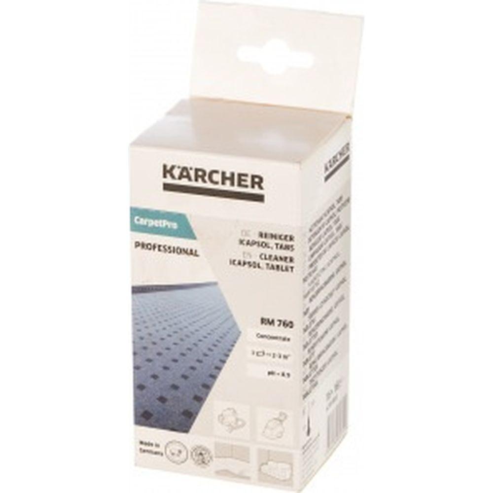 Средство для химчистки RM 760 Tabs (16 табл.) Karcher 6.295-850