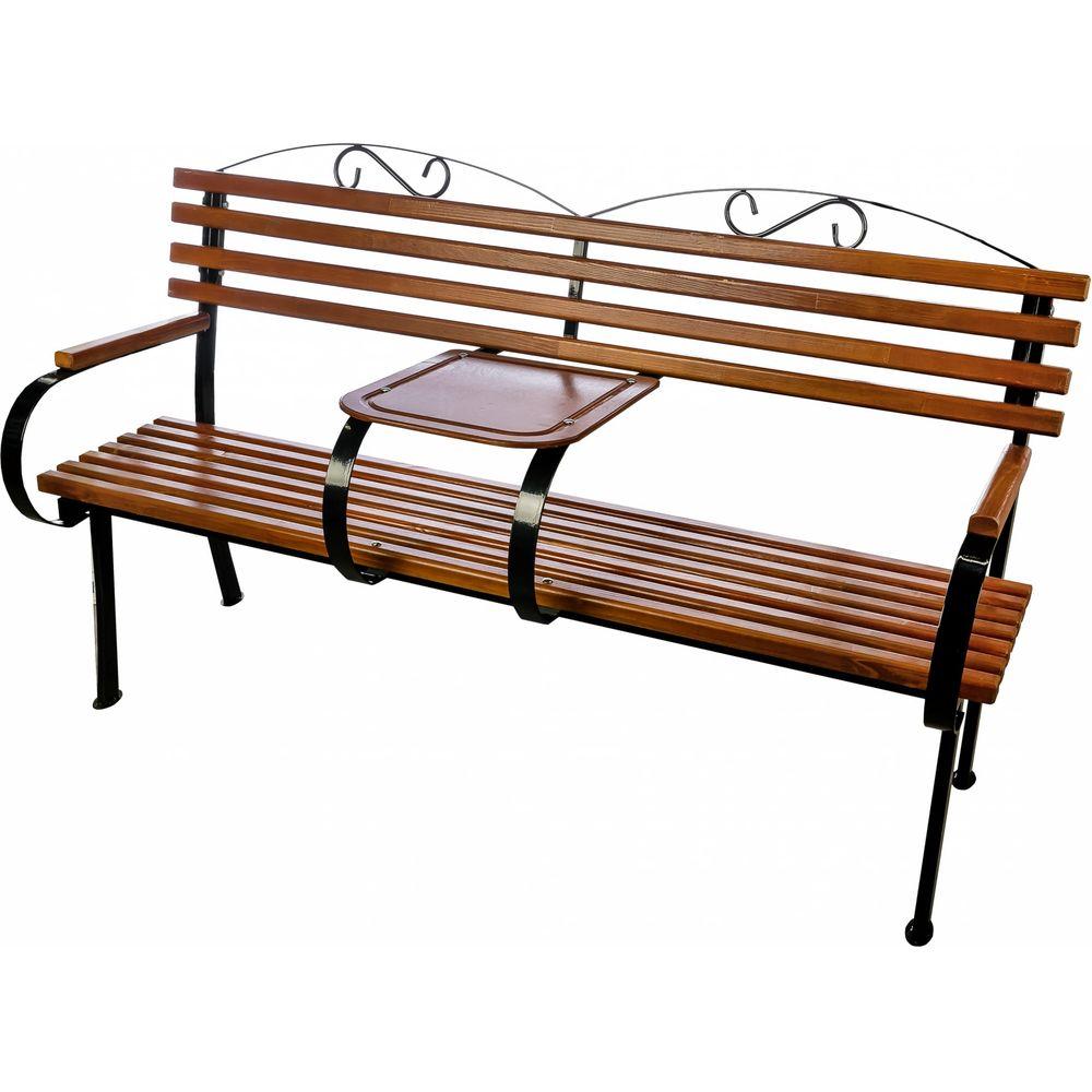 Скамейка со столиком Комплект-Агро Романтика KA4958
