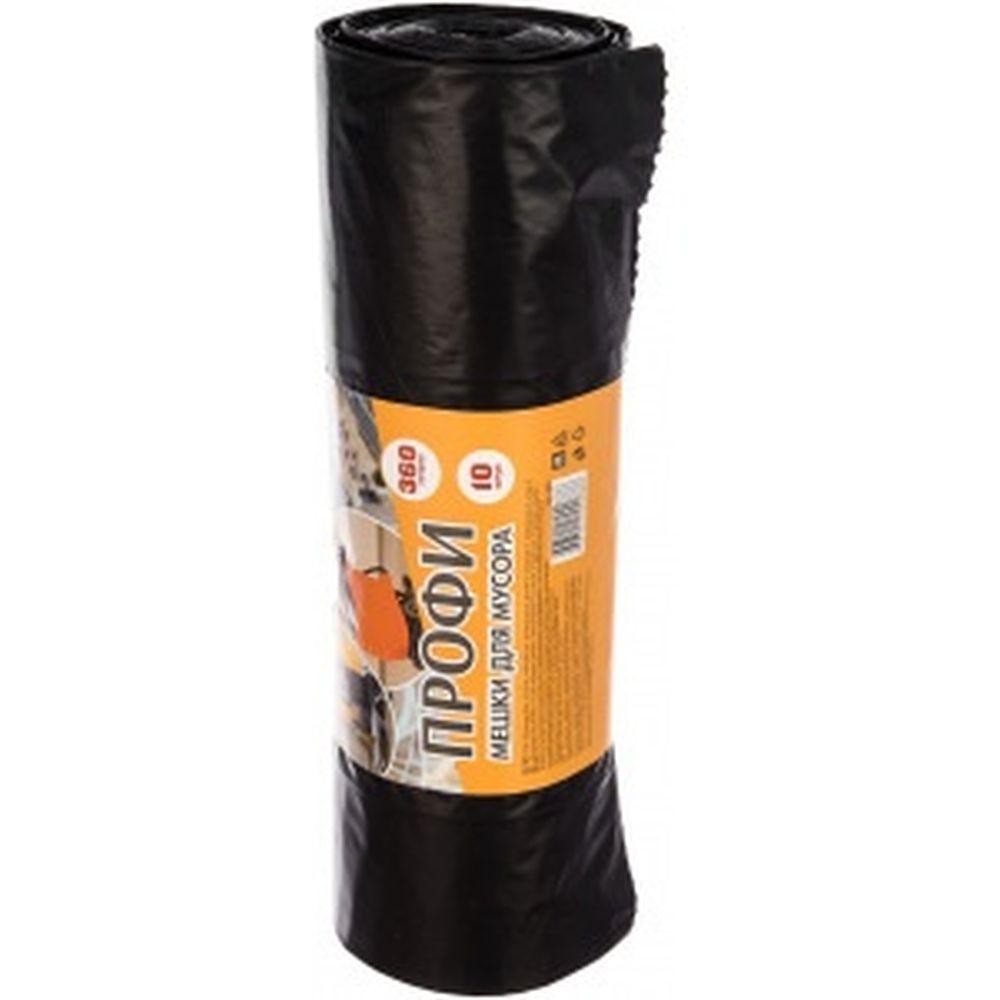 Мешки для мусора ПРОФИ в рулоне (10 шт; 360 л; 65 мкм; 110х140 см) Концепция Быта 2883
