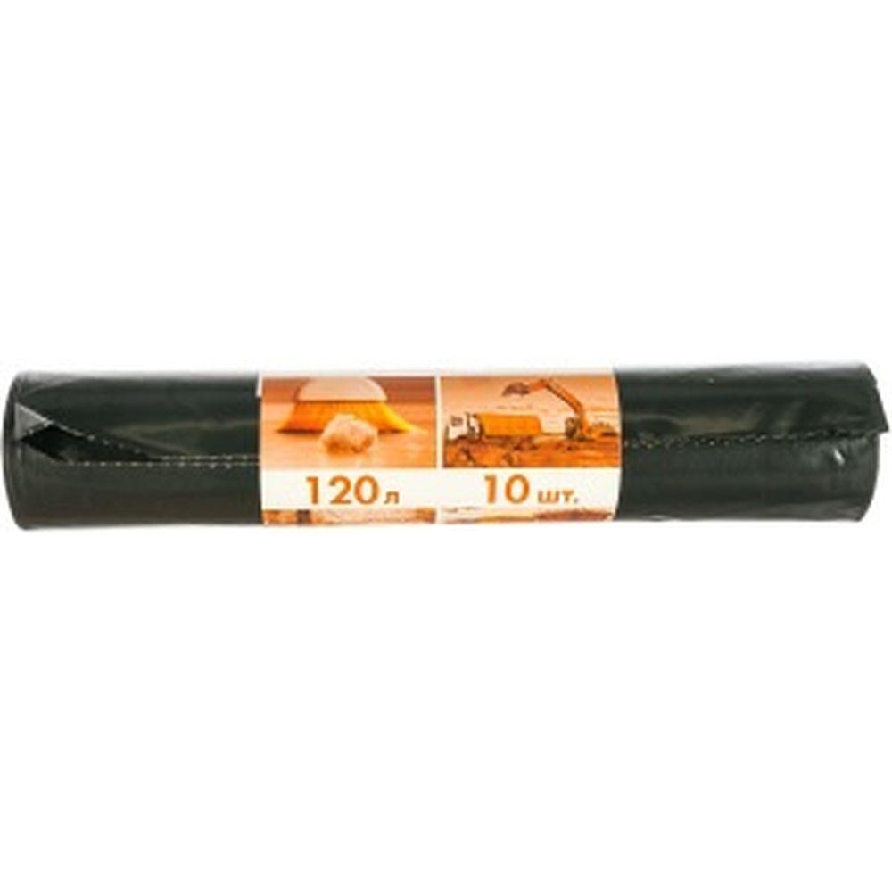 Мешки для мусора особо прочные (10 шт; 120 л; 80 мкм; 70х108 см) Концепция Быта 365990