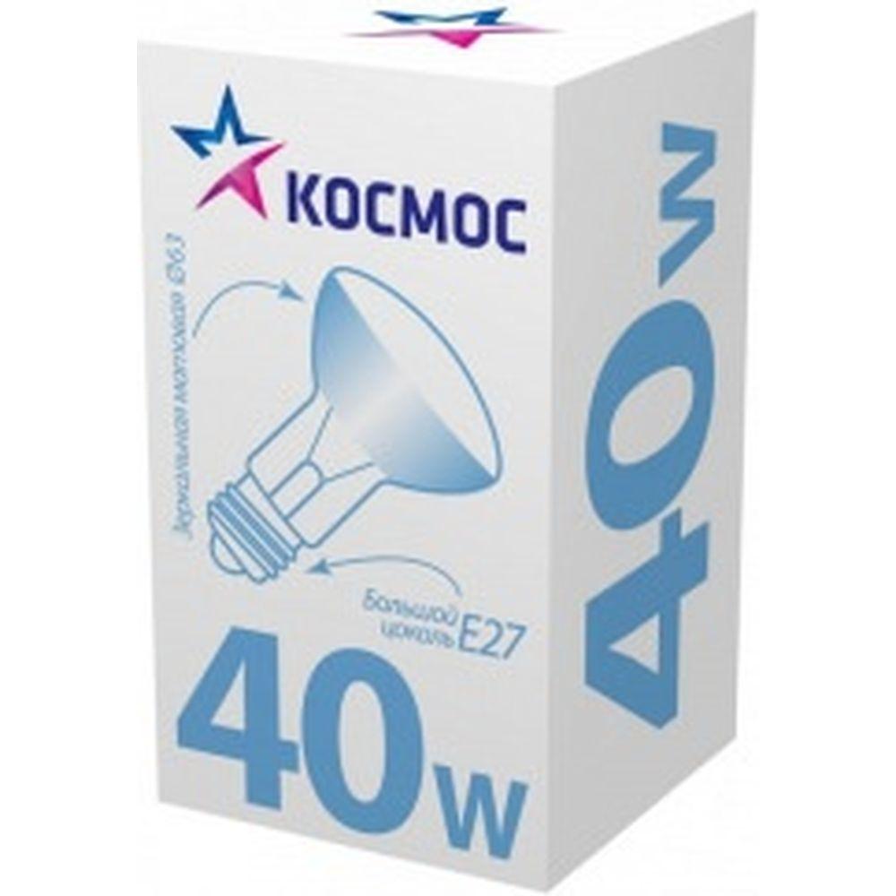 Лампа накаливания Космос ЗК 63 МТ 40 Е27 LKsmSR63Fr40E27