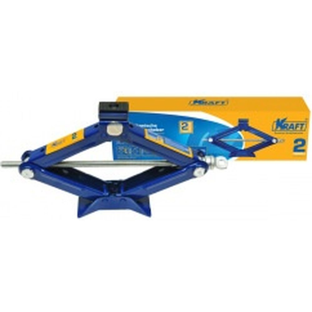 Ромбический домкрат KRAFT 2 т, min 110mm-max 395mm KT 800025