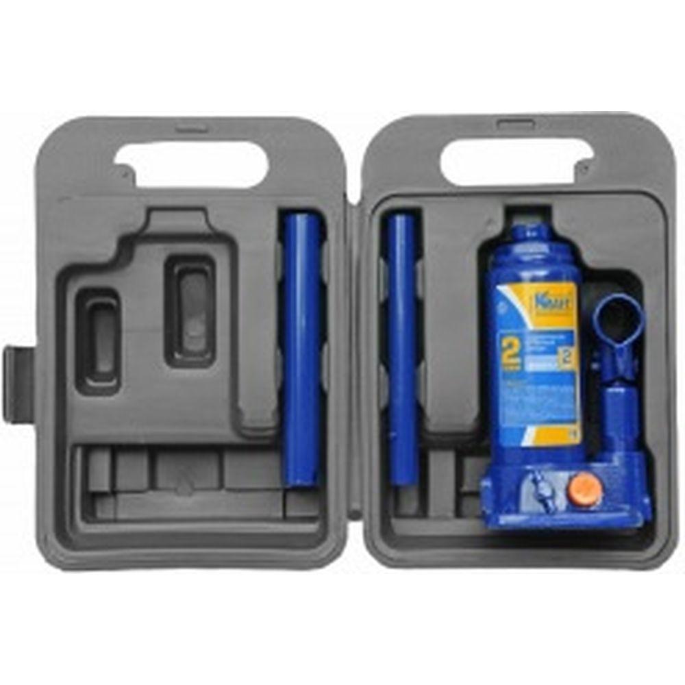 Бутылочный домкрат KRAFT 2 т, в кейсе KT 800012