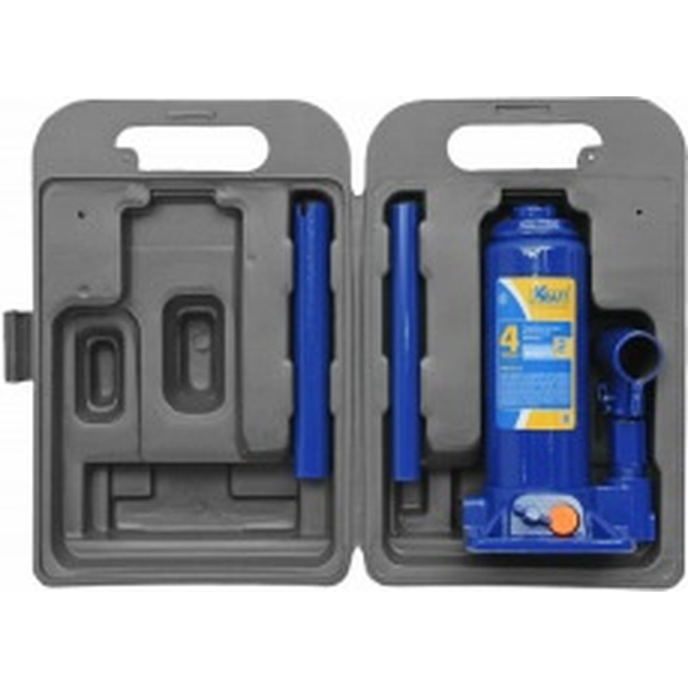 Бутылочный домкрат KRAFT 4 т, в кейсе, min 195mm-max 380mm KT 800014
