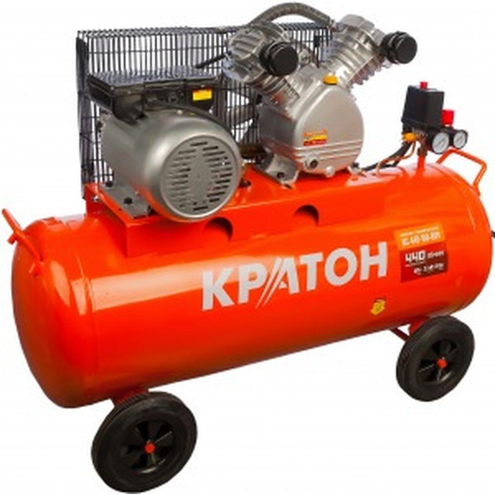 Масляный компрессор с ременным приводом Кратон AC-440-100-BDV 3 01 01 040