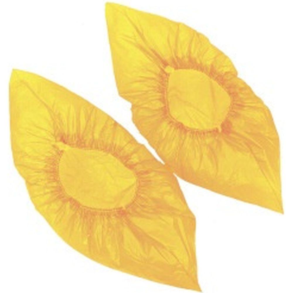 Детские бахилы Лайма, желтые, 100 шт 104983