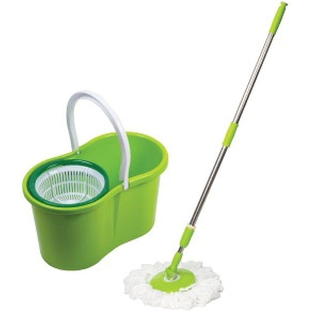 Набор для уборки: ведро и швабра ЛАЙМА 603624