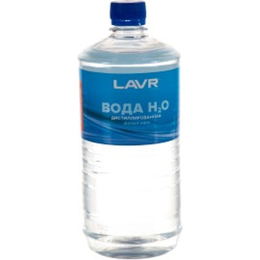 Вода дистиллированная 1000 мл Лавр Ln5001
