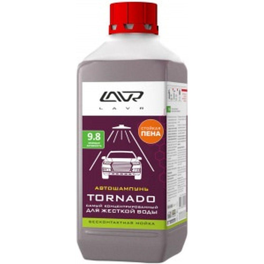 Автошампунь для бесконтактной мойки TORNADO 1 л Лавр Ln2341