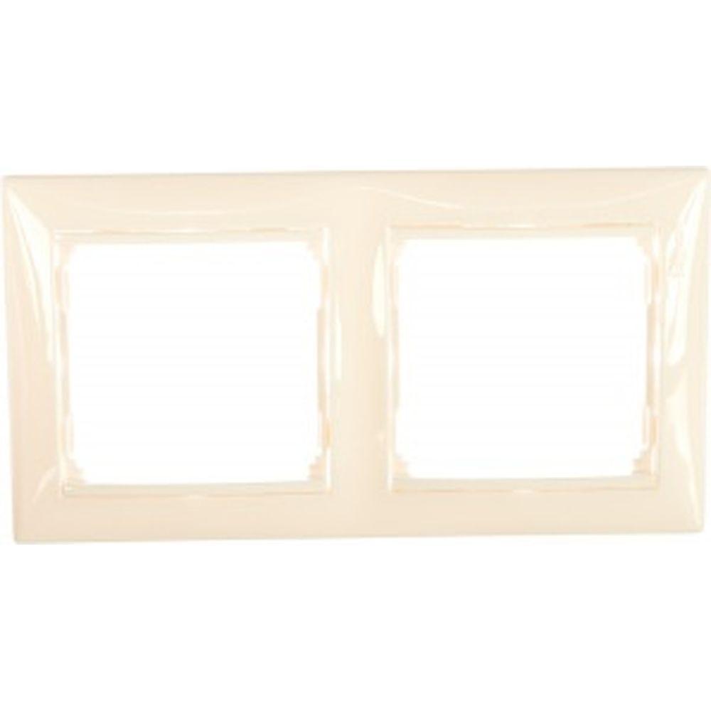 Двухместная рамка Legrand Valena 774452 горизонтальная, белая