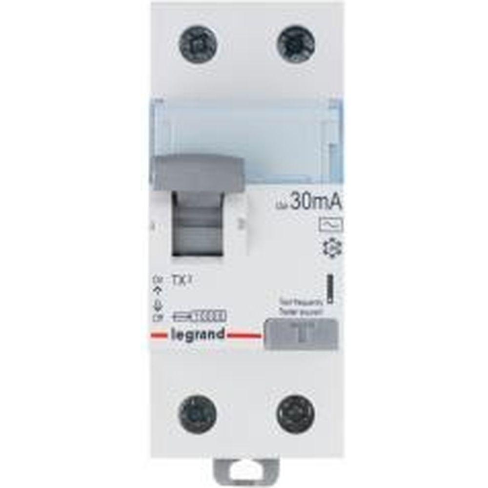 Дифференциальный выключатель Legrand ВДТ TX3 2П 25A 30MA -AC 403000