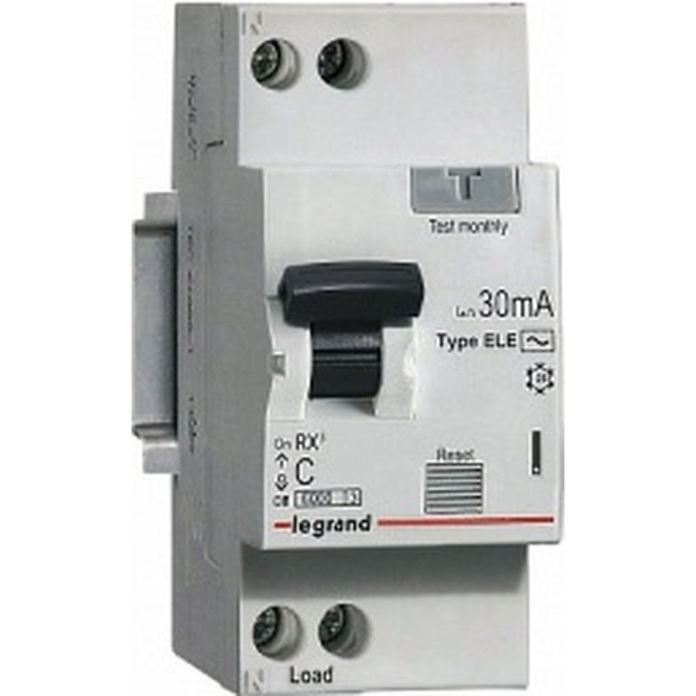 Автоматический выключатель дифференциального тока Legrand 1п 1P+N C 16А 30мА тип AC 6кА RX3 Leg 41999 1199854