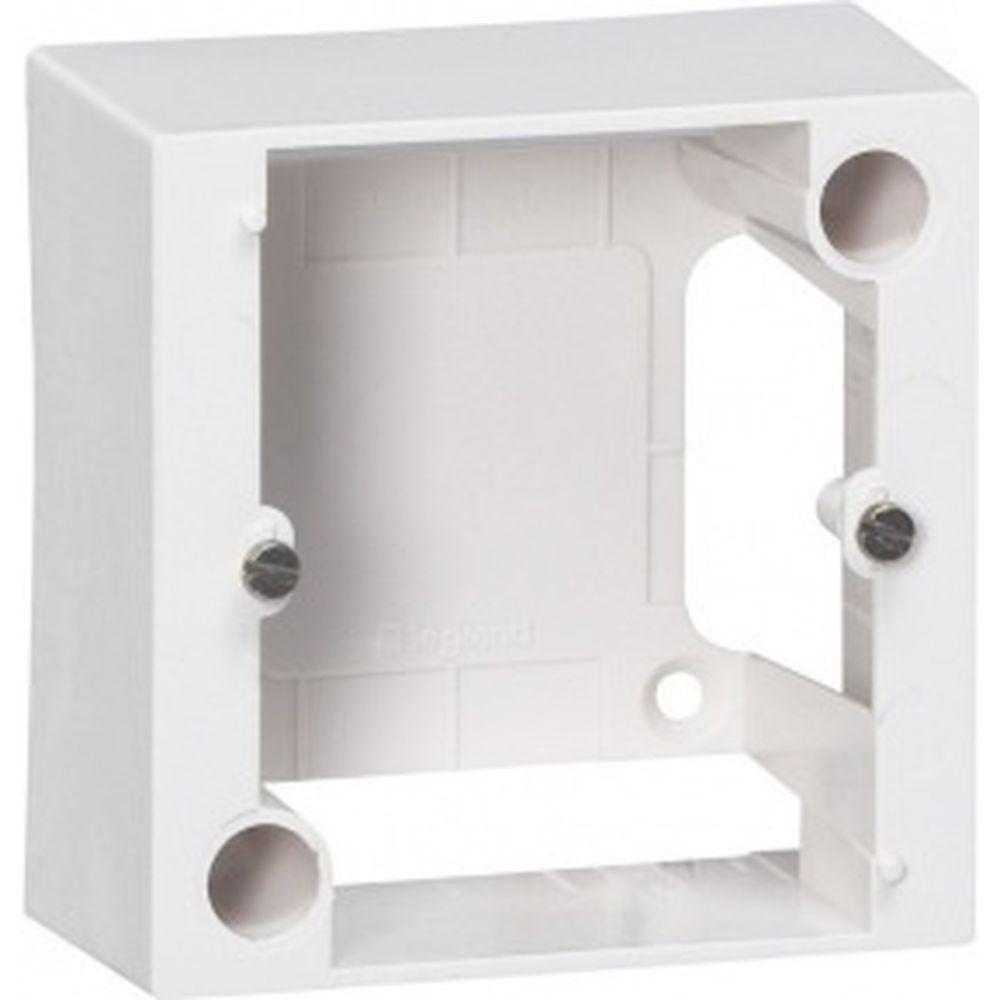 Накладная коробка Legrand 82х82 мм, глубина - 40мм 55439