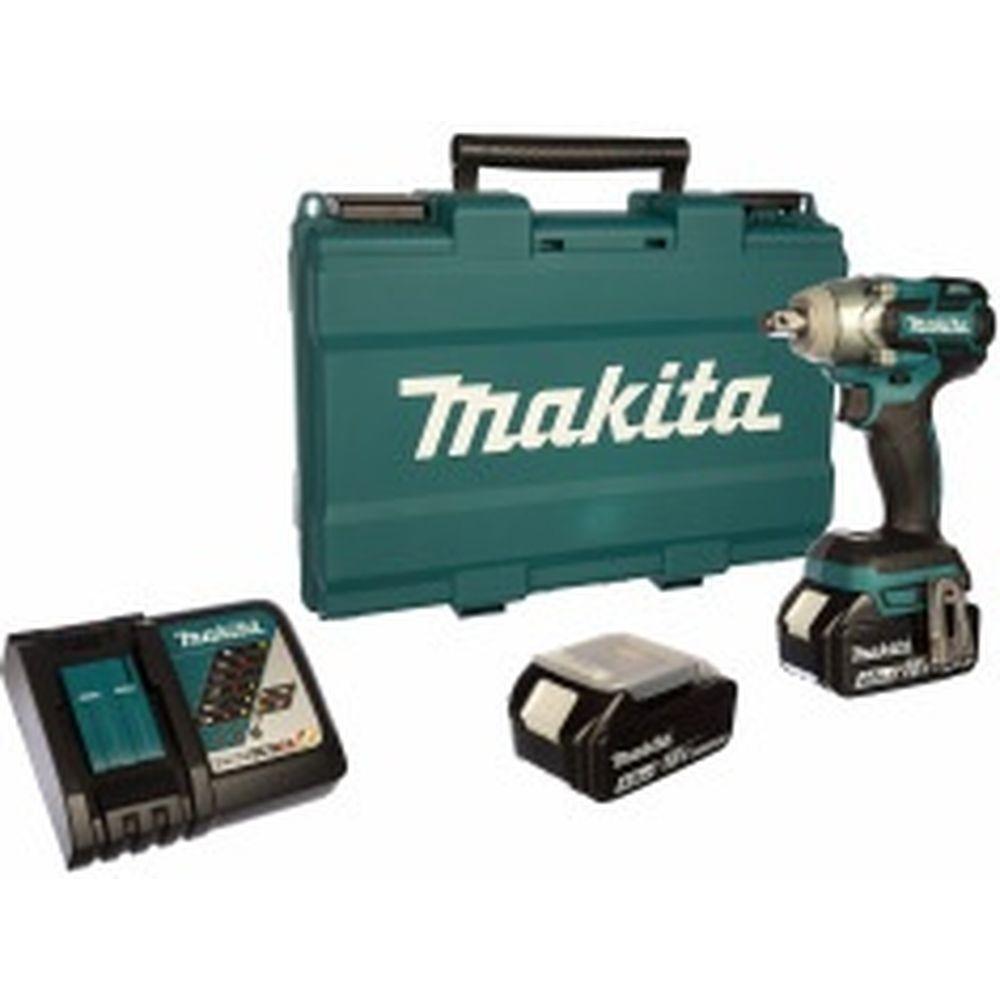 Аккумуляторный ударный гайковерт Makita DTW285RME