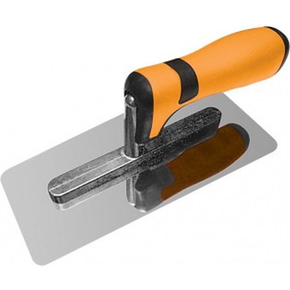 Нержавеющая кельма, 200х80, венецианская форма, 2К ручка MASTER COLOR 30-2020