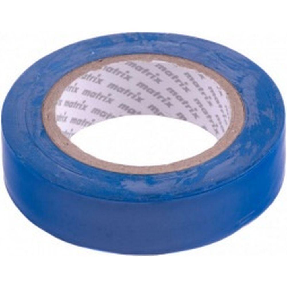 Изолента MATRIX ПВХ, 15 мм х 10 м, синяя, 150 мкм 88770