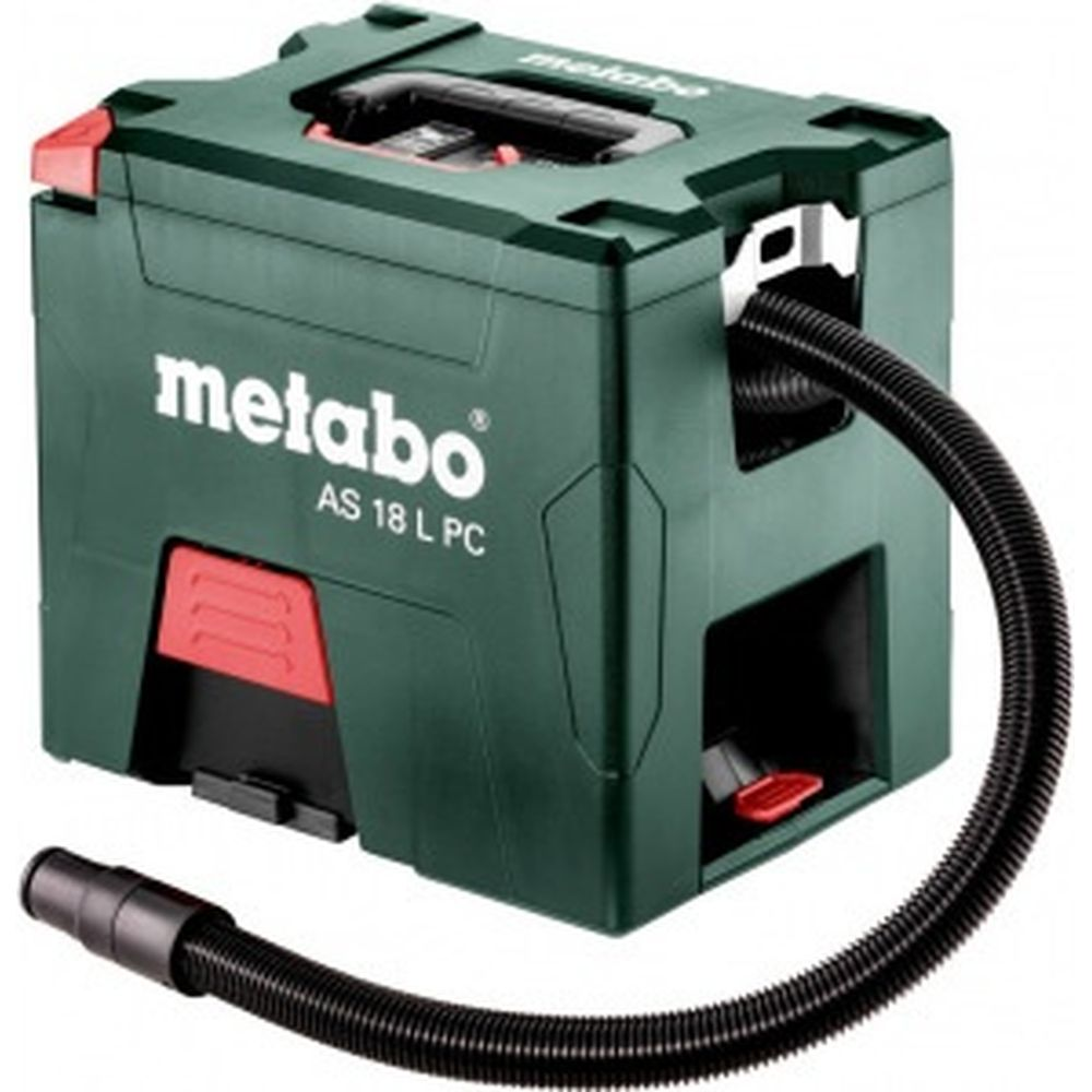 Аккумуляторный пылесос Metabo AS 18 L PC без АКК и ЗУ 602021850