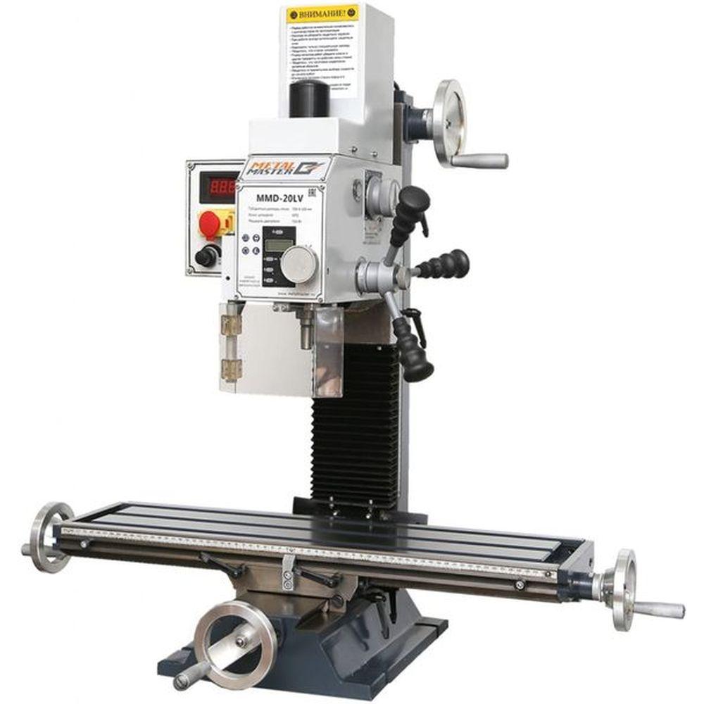 Сверлильно-фрезерный станок MetalMaster MMD-20LV 17617