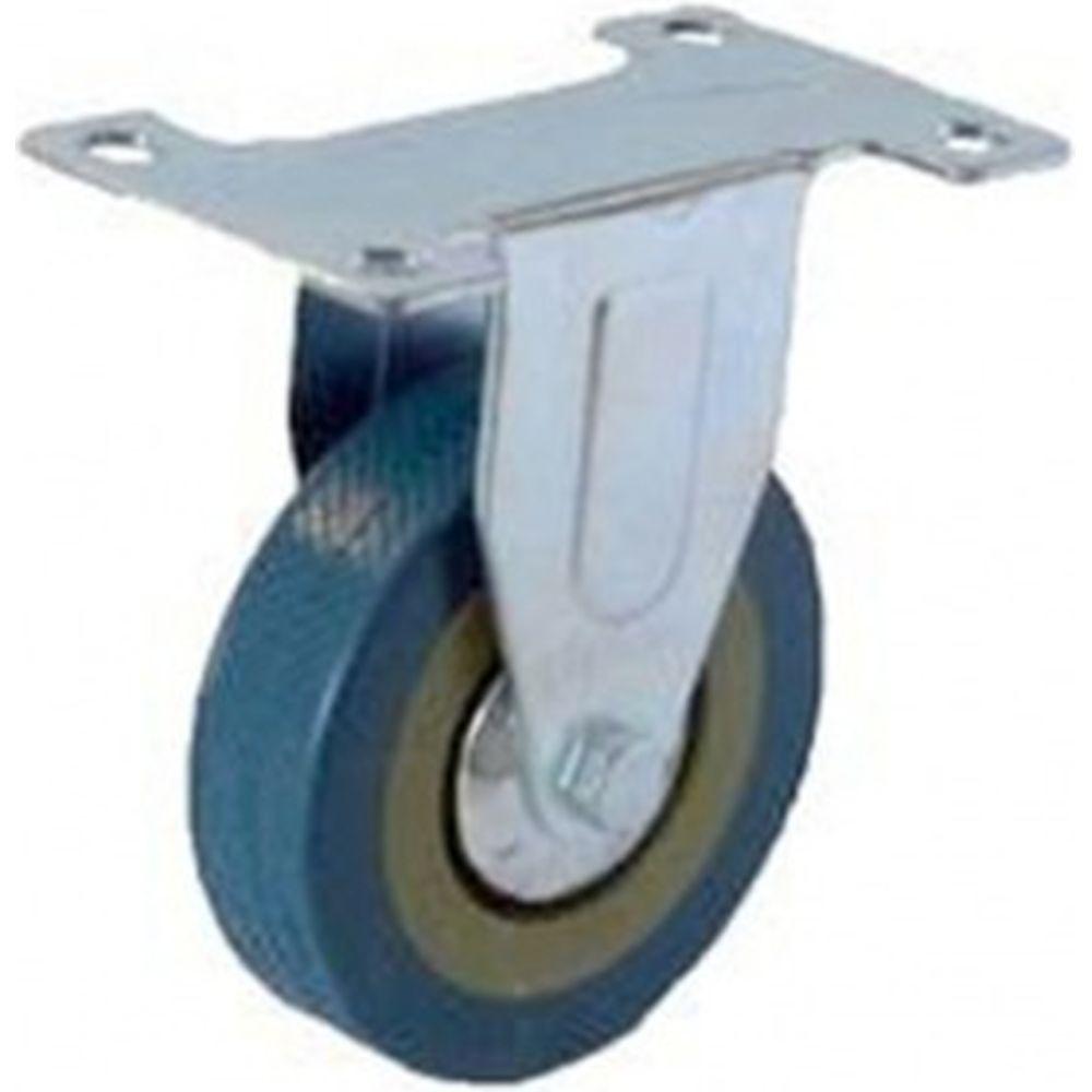 Колесо серая резина неповоротное FCG42 100 мм MFK-TORG 3052100