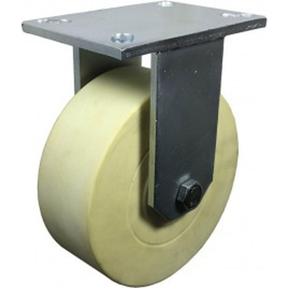 Колесо SUPER нейлоновое неповоротное 200 мм MFK-TORG 8080F-NY