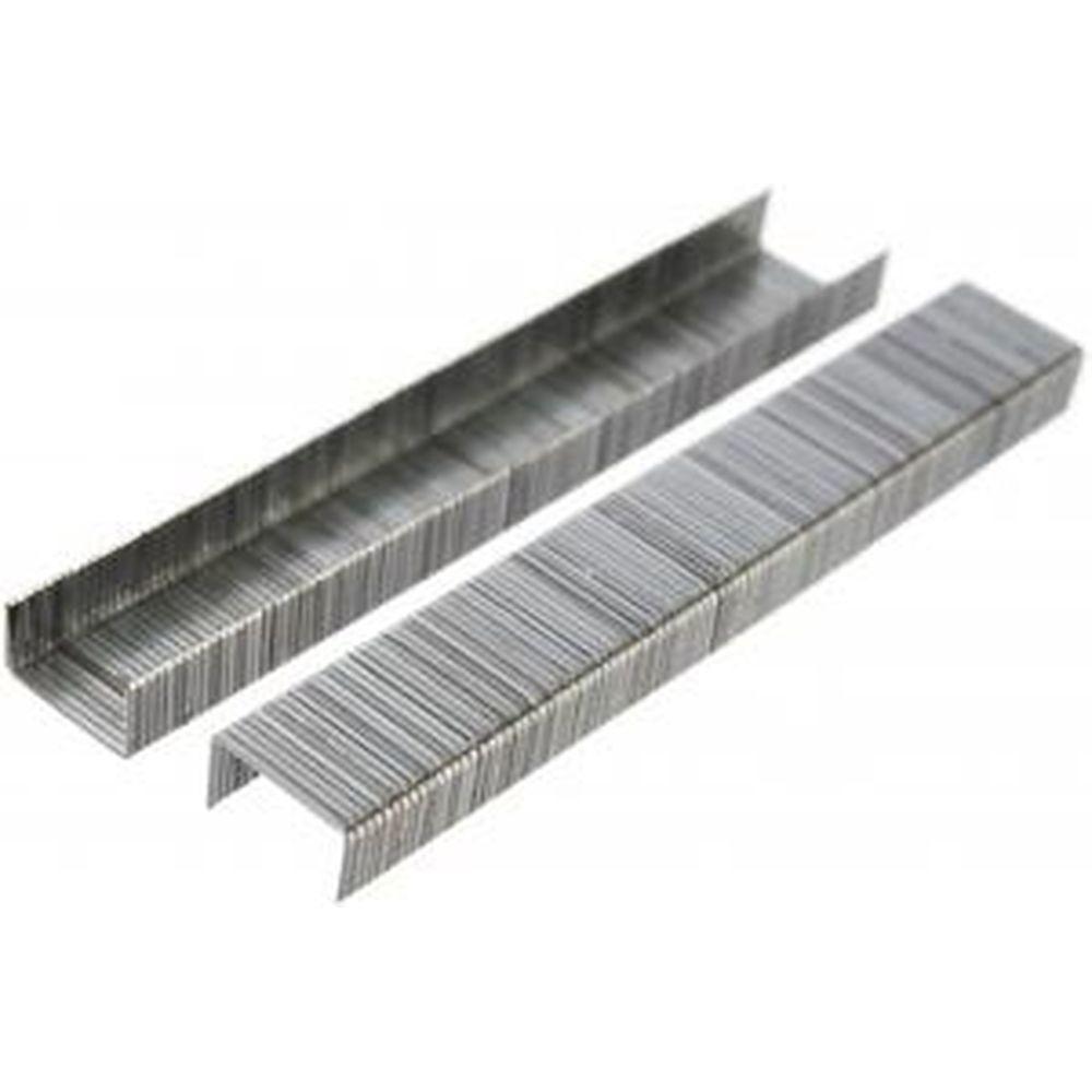 Cкобы (1000 шт; 6x0.7 мм) для степлера Монтажник 600206
