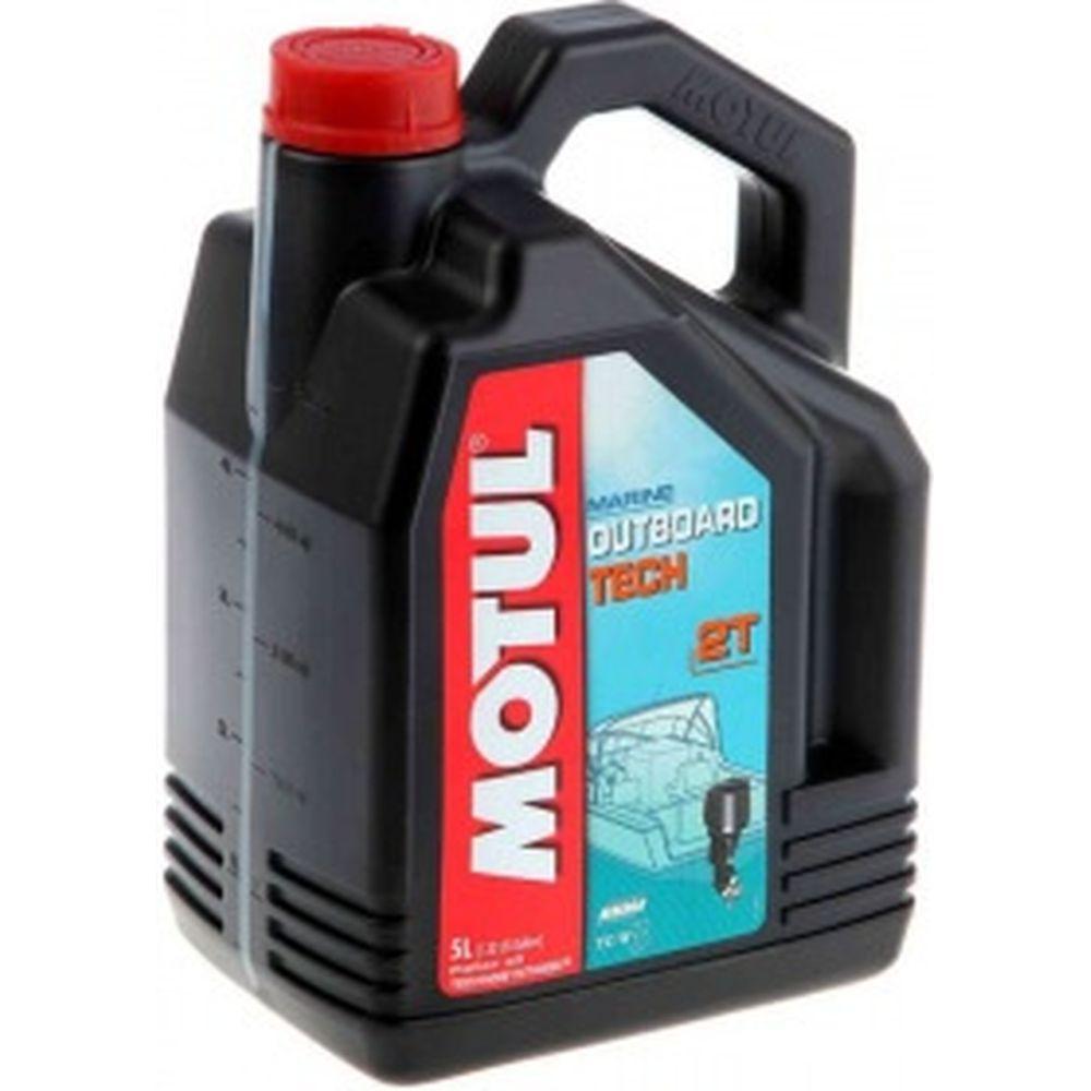 Масло для лодочных моторов OUTBOARD TECH 2T 5 л MOTUL 101728