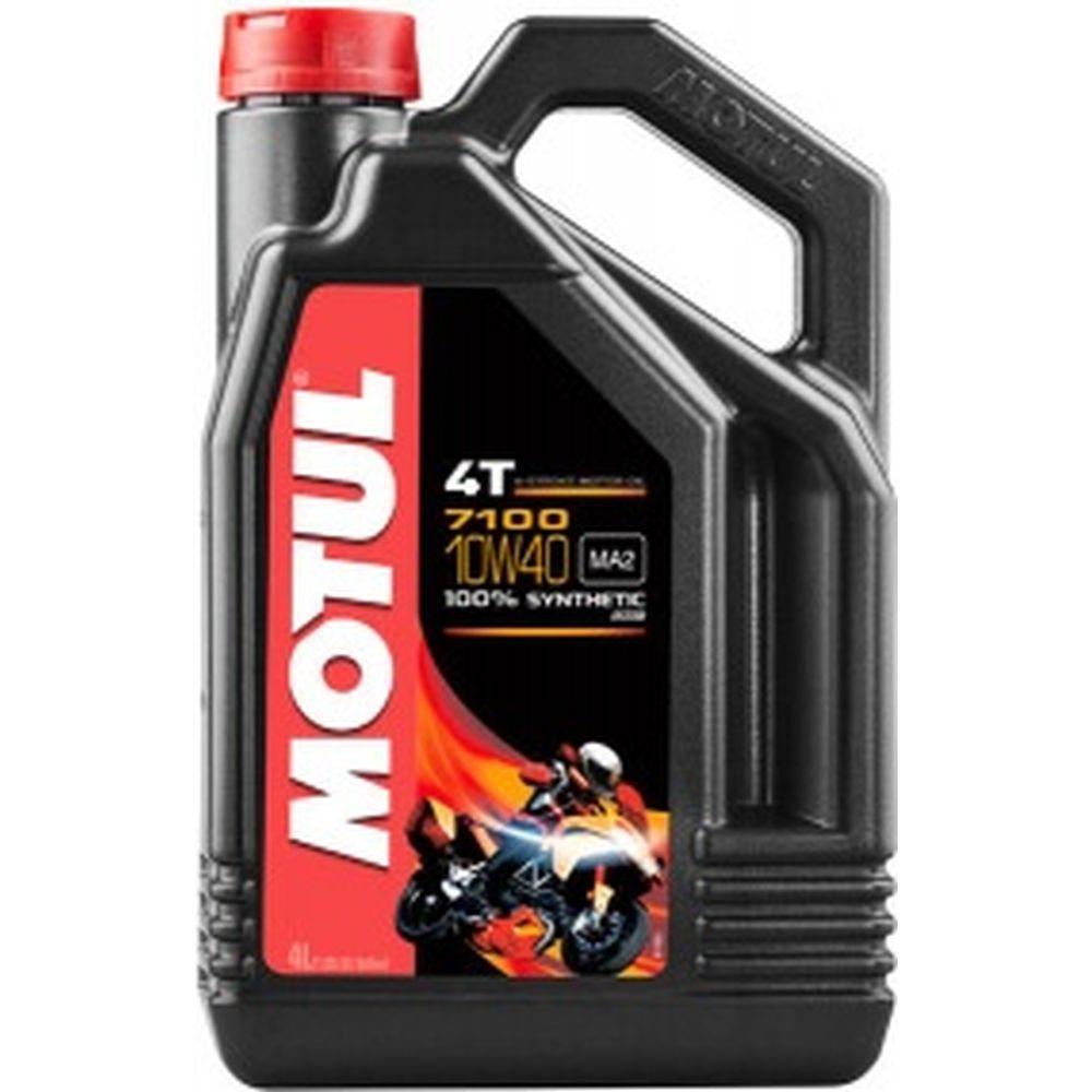 Моторное масло 7100 4T SAE 10W40 4 л MOTUL 104092