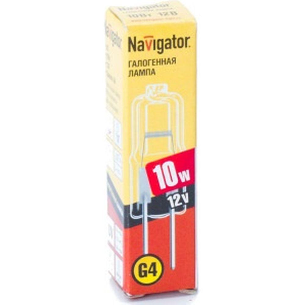Галогенная лампа Navigator 94 209 JC 10W clear G4 12V 2000h 4607136942097 128317