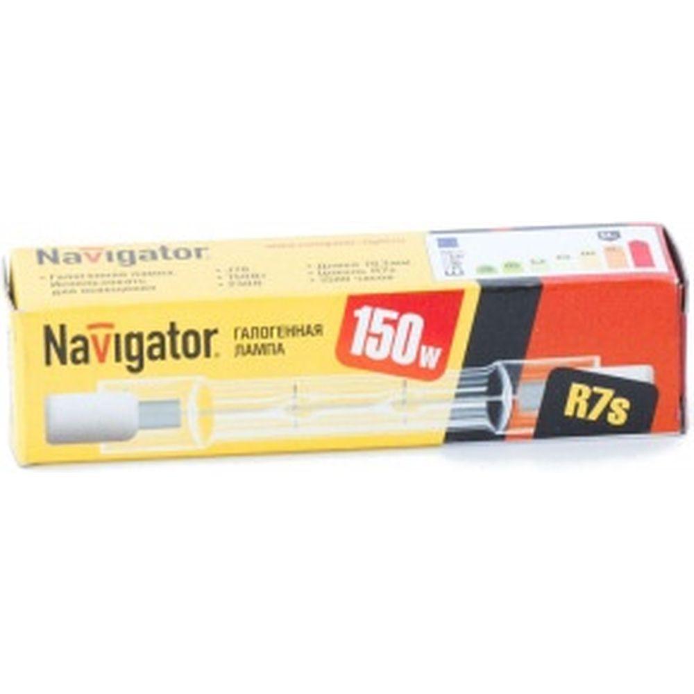 Галогенная лампа Navigator 94 218 J78мм 150W R7s 230V 2000h 4607136942189 128333