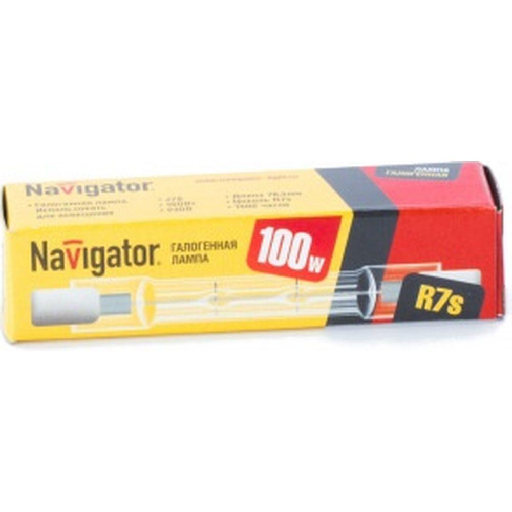 Галогенная лампа Navigator 94 217 J78мм 100W R7s 230V 2000h 4607136942172 128332