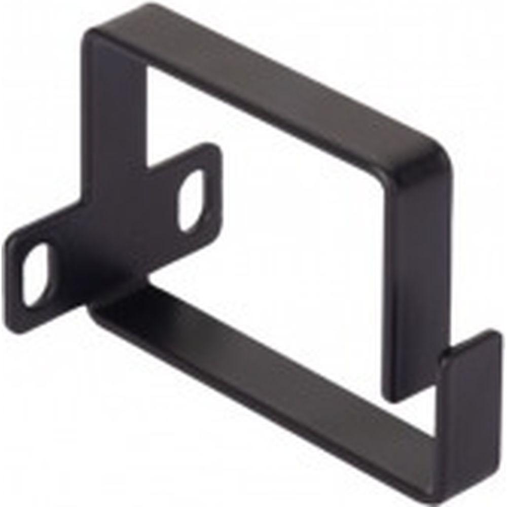Кольцо для вертикальной разводки кабелей NIKOMAX, 50х60мм, металлическое, черное NMC-OV600-BK