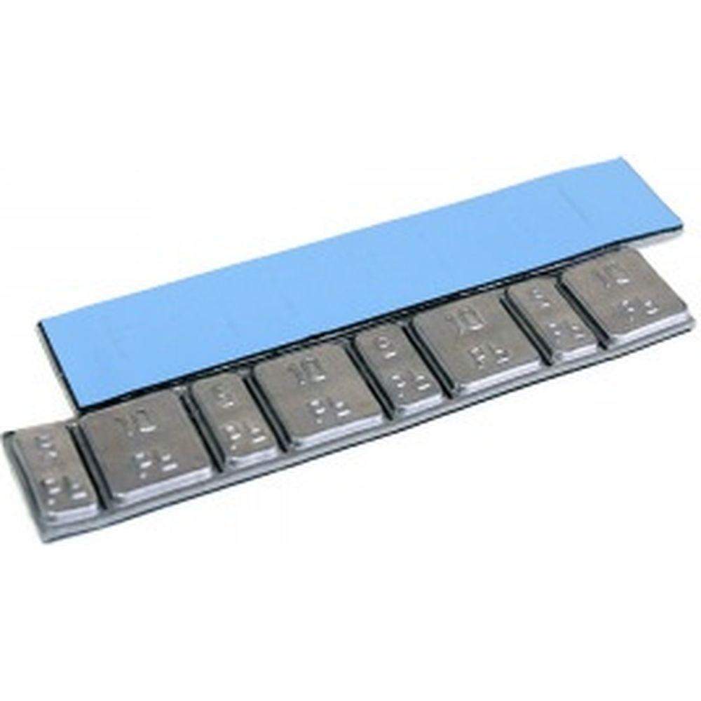 Адгезивные свинцовые груза NORM 60 г, 5-10, ширина, 19 мм, 50 шт/упак 0062