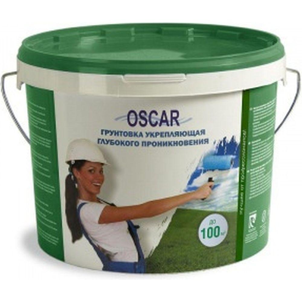 Укрепляющая грунтовка глубокого проникновения Oscar ведро 10 кг GV os-10kg