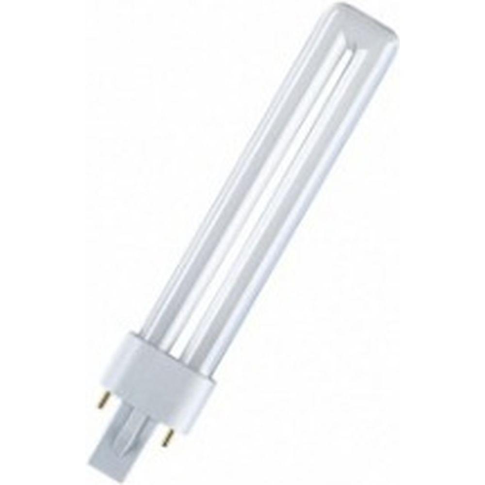 Компактная люминесцентная лампа DULUX S 11W/827 G23 OSRAM 4050300006017