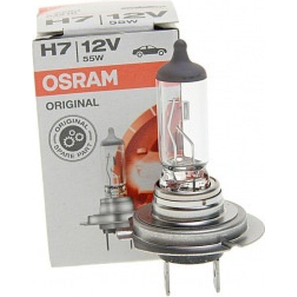 Автолампа OSRAM H7 55 PX26d 12V, 10,100 HIT 64210