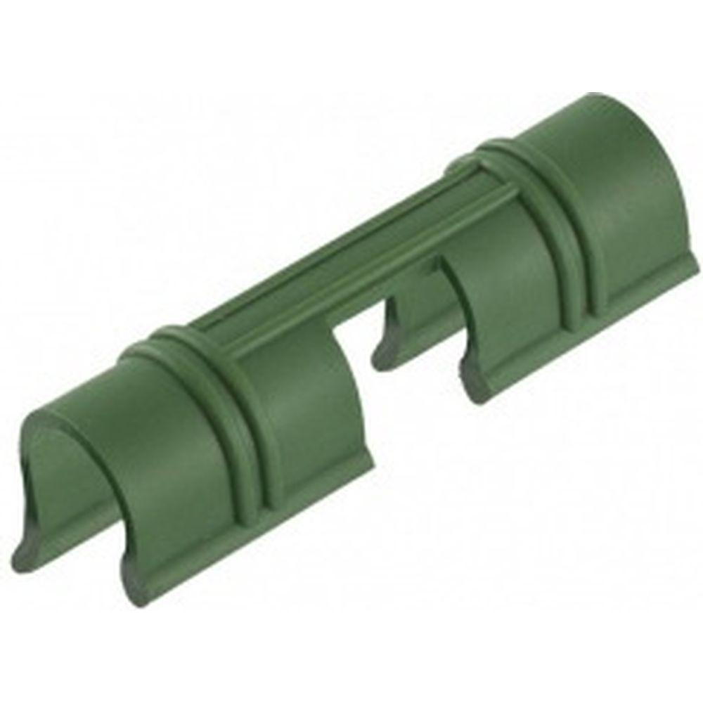 Универсальные зажимы для крепления пленки к каркасу парника PALISAD d12мм, 20 шт, зеленые 64429